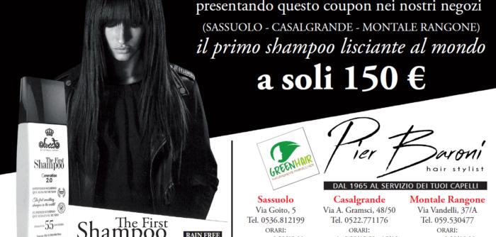 Pubblicità shampoo lisciante